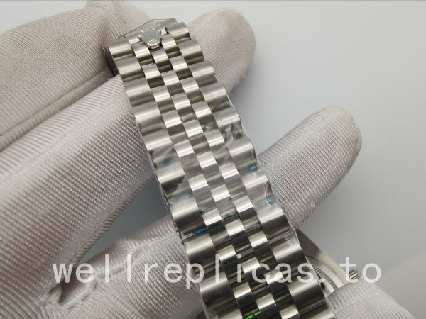 Rolex Datejust 116234 Men Dial Black & Silver Automatic Movement