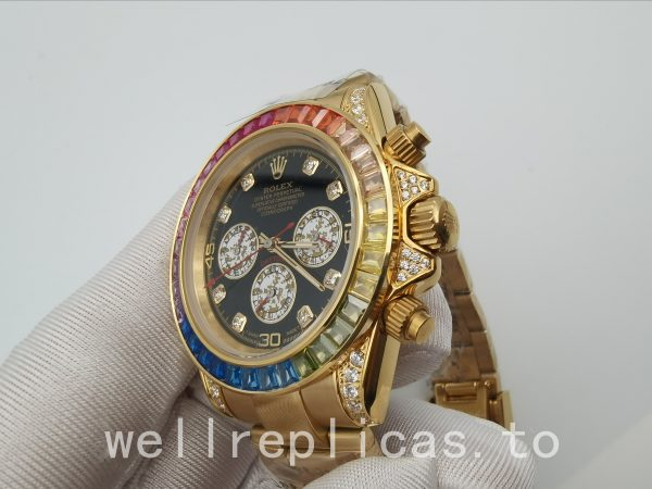 Rolex Daytona 116598 Men Case 40 Mm Automatic Movement