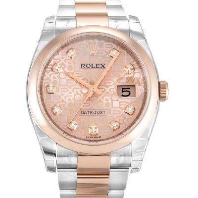 Rolex Datejust 116201.2 Mens Case 36 Mm Automatic Movement