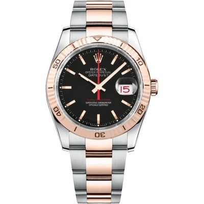 Rolex Datejust 116261 Unisex Case 36 Mm Stainless Steel