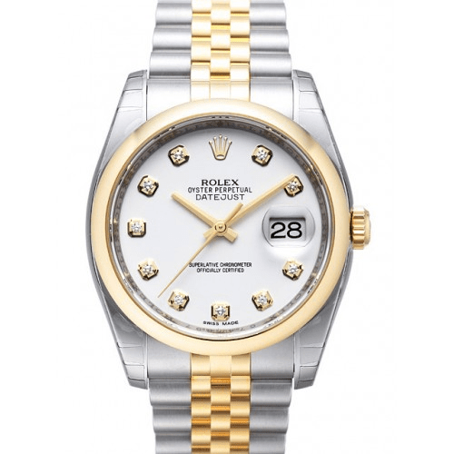 Rolex Datejust 116203 Dial White Solid Stainless Steel