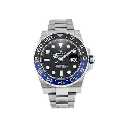 Rolex GMT-Master II 116710 Mens Black Dial 40mm Steel Automatic Watch