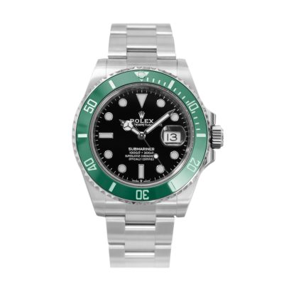 Rolex Submariner 126610lv Unisex 41mm Black Dial Steel Automatic Watch