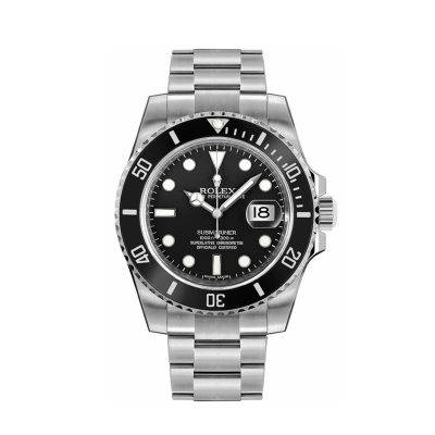 Rolex Submariner 116610 Black Dial 40mm Men's Steel Automatic Watch