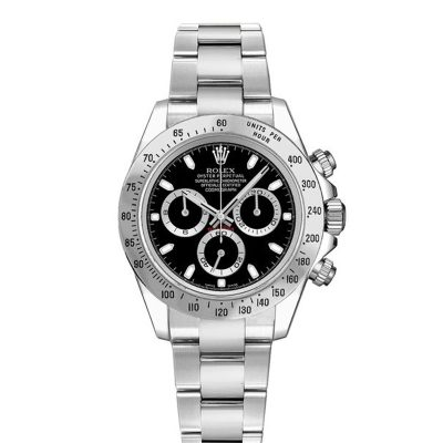 Rolex Daytona 116520 Men's 40mm Black Dial Round Automatic Watch