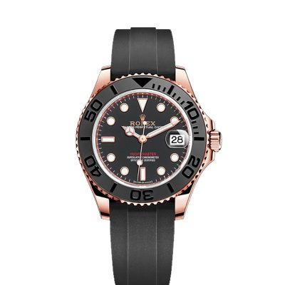 Rolex Yacht-Master 268655 Black Dial Unisex 37mm Automatic Watch