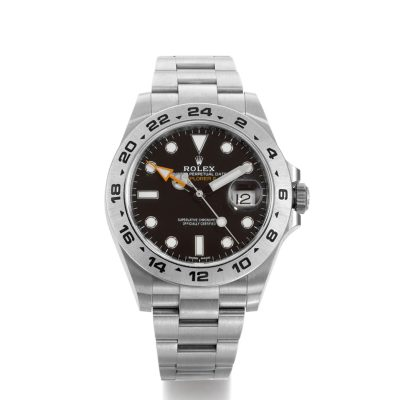 Rolex Explorer II 216570 Mens 42mm Black Dial Steel Automatic Watch