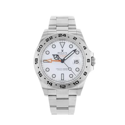 Rolex Explorer II 216570 White Dial 42mm Mens Round Automatic Watch
