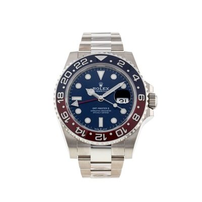 Rolex GMT-Master II 126719 Mens Blue Dial 40mm Adult Automatic Watch
