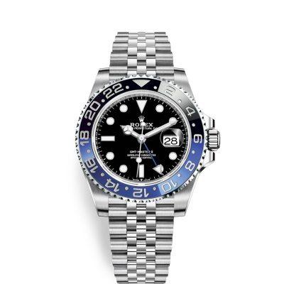 Rolex GMT-Master II 126710 BLRO Men's Black Dial 40mm Automatic Watch