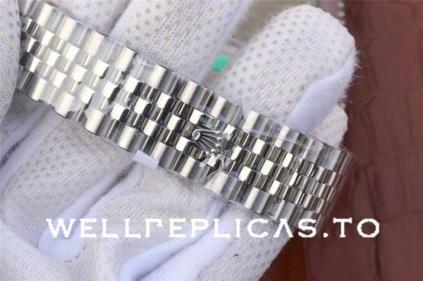 Rolex Datejust 116234 Replica Blue Dial Lady 36mm Silver Watch