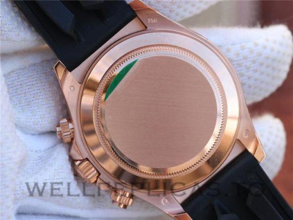 Rolex Daytona 116515LN Men 40mm Black Rubber White Dial Watch