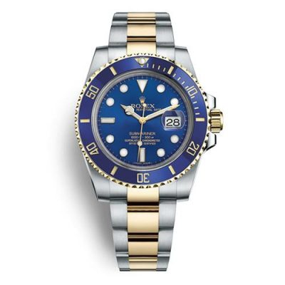 Rolex Submariner 116613LB Replica Men 40mm Blue Plate Dial Watch