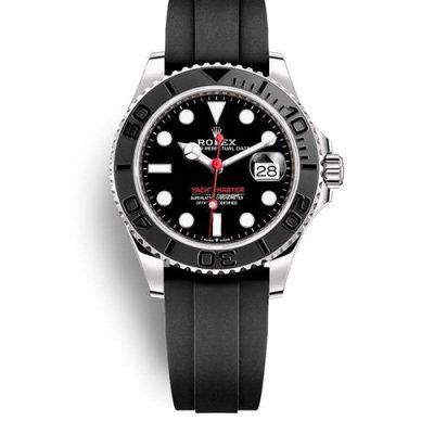 Rolex Yacht-Master 116655 Replica Black Plate Dial Men 40mm Watch