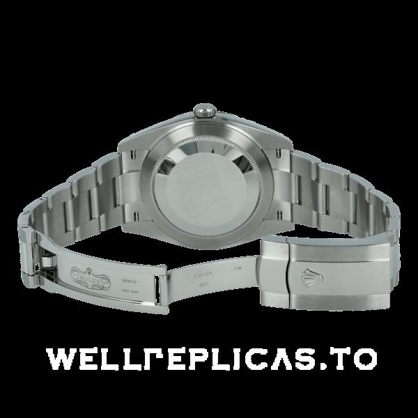 Rolex Datejust 126334 Men 41mm Gray Dial Silver Frame Watch