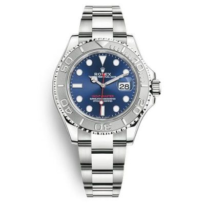 Rolex Yacht-Master 126622 Replica Men 40mm Blue Plate Dial Watch