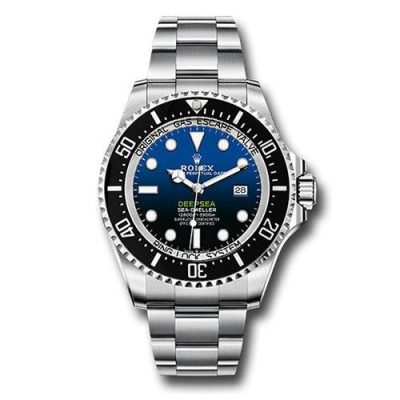 Rolex Deepsea 126660 Replica Men 44mm Blue Gradient Dial Watch