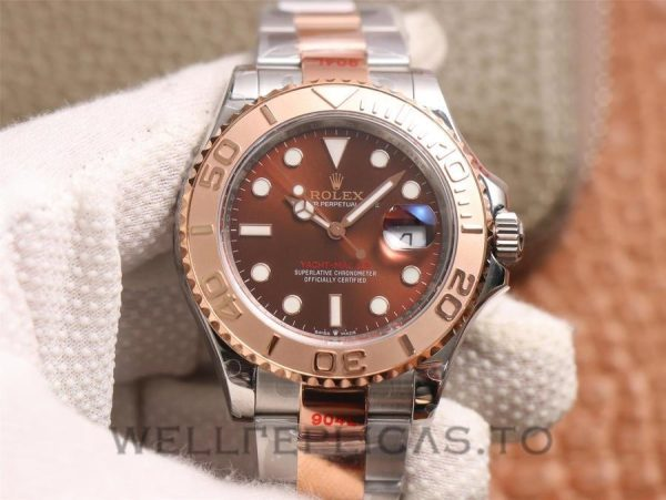 Rolex Yacht-Master M126621 Men 40mm Chocolate Color Dial Watch