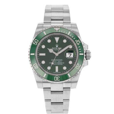 Rolex Submariner 116610LV Replica 40mm Green Dial Men Watch