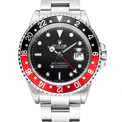 Rolex GMT-Master 16710 Replica Men 40mm Red And Black Circle Watch
