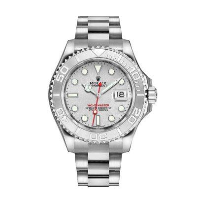 Rolex Yacht-Master 116622 Replica White Dial 44mm Men Steel Watch